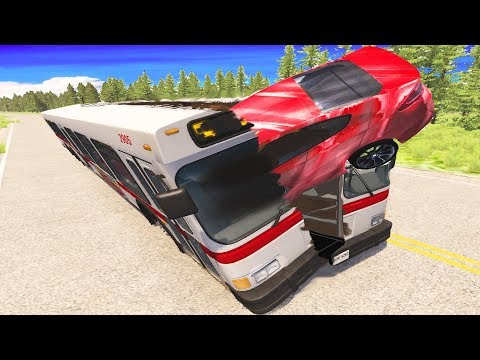 SHOCKING Traffic Accident - BeamNG Drive | CrashTherapy