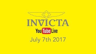 Invicta YouTube Live - Big savings for the Collector