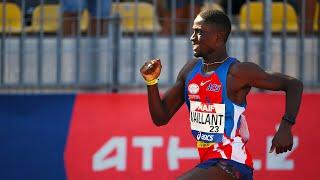 Albi 2020 : Finale 400 m M (Ludvy Vaillant en 45''46)