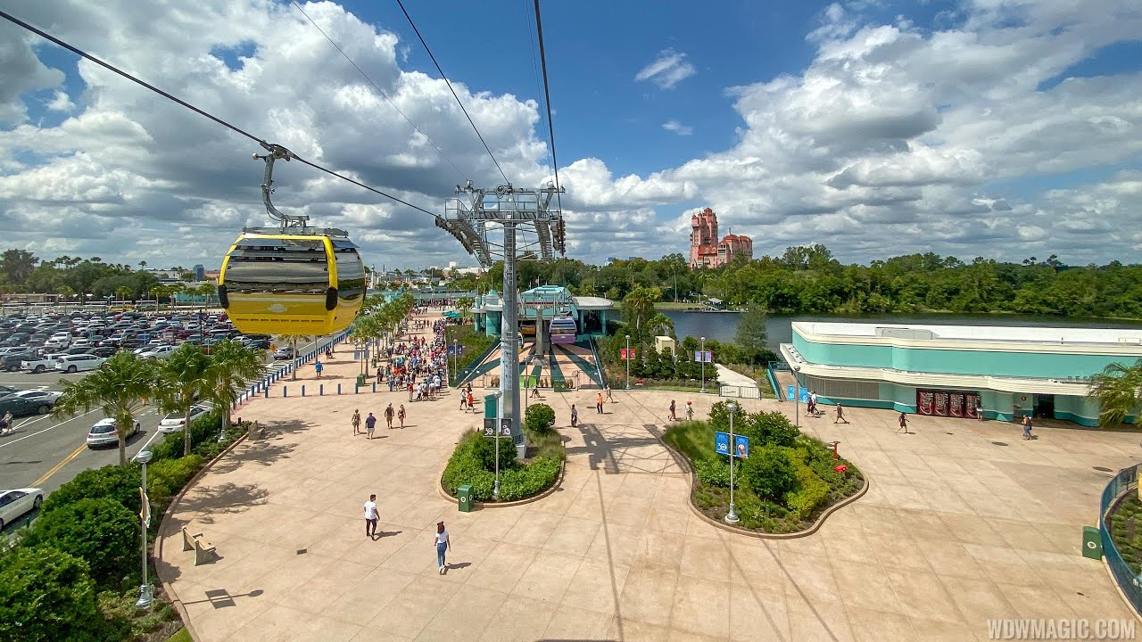 Disney Skyliner POV ride to and from Disney's Hollywood Studios