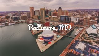 FLYING A DRONE OVER INNER HARBOR @ BALTIMORE, MD