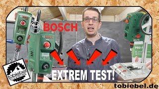 Bosch PBD 40 die perfekte Heimwerker Ständerbohrmaschine ? Unboxing und extrem Test ! Bohrmaschine