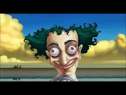 The creator of Courage the Cowardly Dog has a YouTube channel if anyone is interested, this is one of his art pieces.