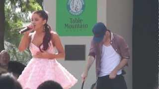 Ariana Grande Pink Champagne Fresno Fair 10-13-12