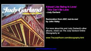 Judy Garland at the Palace 1967 remastered - Almost Like Being In Love/This Can't Be Love