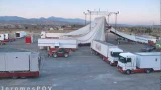 preview picture of video 'Circo Alegría llega en Huesca [FullHD / HDR / TimeLapse / 29s]'