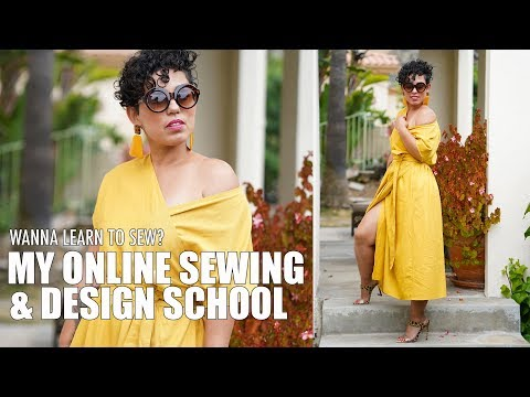 MY ONLINE SEWING AND DESIGN SCHOOL! WANNA LEARN TO SEW?