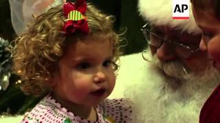 Training to be Santa Claus