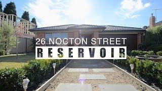 26 Nocton Street Reservoir
