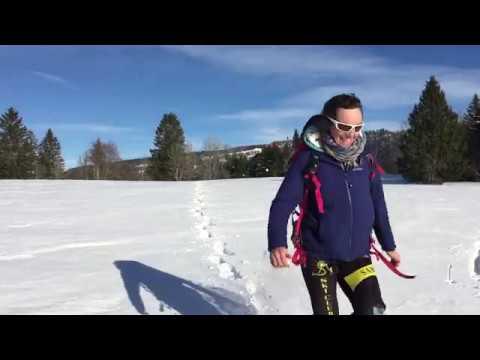 Balade à raquettes sur les sommets du Doubs