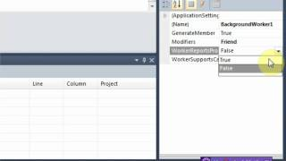 Vb.NET (Visual Basic 2008/2010) : How to use a BackgroundWorker