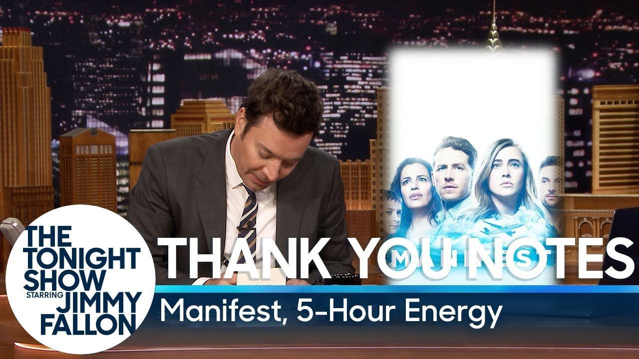 Thank You Notes: Manifest, 5-Hour Energy thumbnail