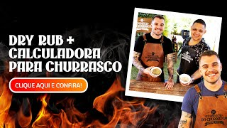DRY RUB + CALCULADORA para CHURRASCO