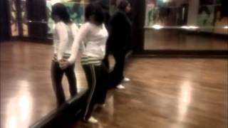 The Making of Angel Dust choreography Phase 1 - Mirror scene