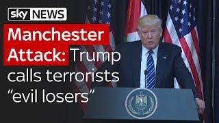 Manchester Attack: Donald Trump says terrorists are