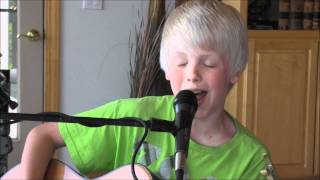 Maroon 5, Maroon 5 - Payphone ft. Wiz Khalifa by 10 yr old Carson Lueders acoustic cover