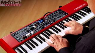 Kraft Music - Nord Electro 5 Keyboard Demo with Chris Martirano