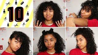 10 IDÉES COIFFURES SIMPLES & RAPIDES | SOS Cheveux Bouclés