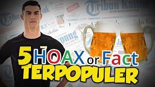 TOP 5 HOAX OR FACT: Hotel Ronaldo Jadi RS Corona Gratis hingga Minum Akohol Tangkal Covid-19?
