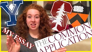Reading My Common App Essay! (Stanford, Yale, Princeton Accepted)
