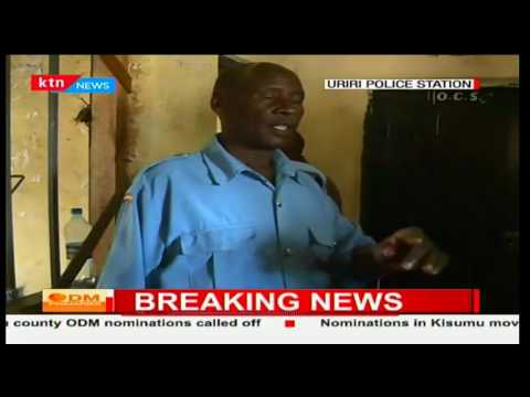 Suspicion after vehicle is intercepted with ballot papers in Migori with no security