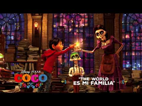 Coco (Song Snippet 'The World Es Mi Familia')