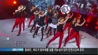 [HD] 110626  Sunny Hill - Midnight Circus