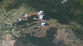 preview picture of video 'จอข้อมูลเดินป่าหลุมขุดฟอสซิลไดโนเสาร์ภูเวียง'