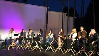 PLL Cast Q&A + Spoilers | Hollywood Forever Cemetery Event PANEL pt.1
