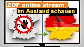 ZDF LIVE Internet Stream Im Ausland Schauen - So Gibts Empfang!