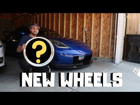 NEW WHEELS FOR THE 350Z!