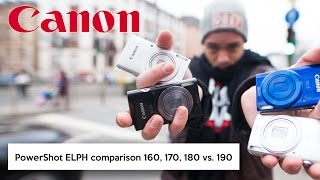 Canon PowerShot ELPH 160, 170 IS, 180 vs. 190 IS | Pocketcamera vs. iPhone