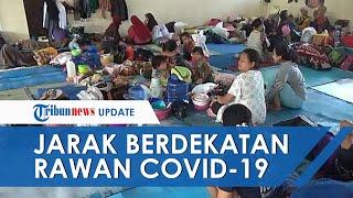 Jarak Berdekatan, Pengungsi Banjir di Kabupaten Bandung Rawan Terpapar Corona