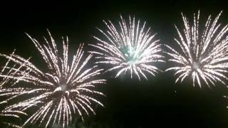 Feuerwerk Waldbühne Möhlau 2016