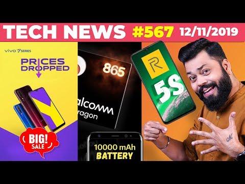 Realme 5s Confirmed, vivo BIG Sale, 10k mAh Battery Phone, SD865 Specs, Asus 5Z 6Z Price Cut-TTN#567