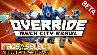 Override: Mech City Brawl - Closed Beta (Let's Play)