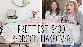 EPIC BEDROOM MAKEOVER FOR UNDER $400 | FEAT. STACEY MCGUNNIGLE
