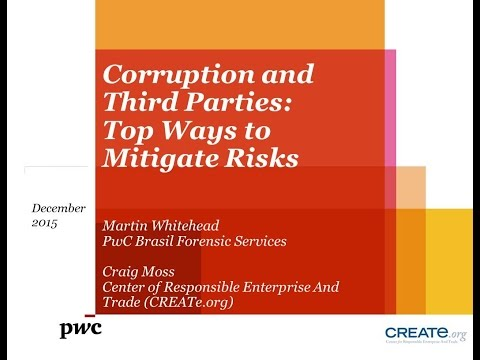 Corruption and Third Parties: Top Ways to Mitigate Risks