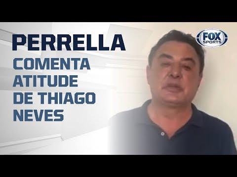THIAGO NEVES É AFASTADO DO CRUZEIRO E GERENTE DE FUTEBOL DISPARA: