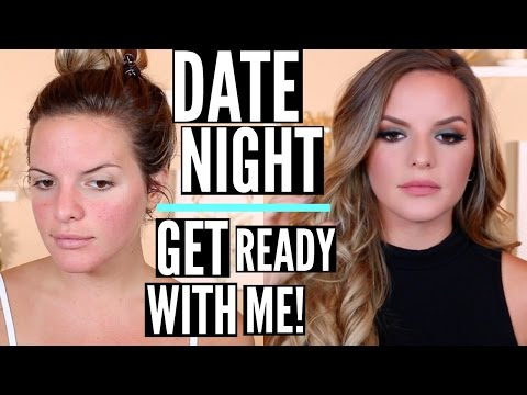 DATE NIGHT Makeup Look! Get Ready With Me | Casey Holmes