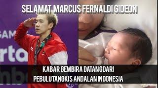 Pebulu Tangkis Andalan Indonesia, Marcus Gideon Resmi Menjadi Seorang Ayah
