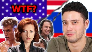 Russians React to Russian Film and TV Characters