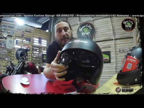 Presentación Novedades Cascos Ls2 2017 - Iguana Custom