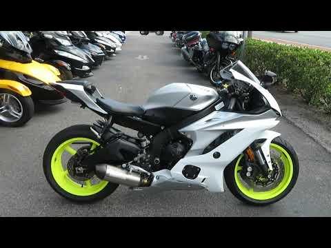 2017 Yamaha YZF-R6 in Sanford, Florida - Video 1