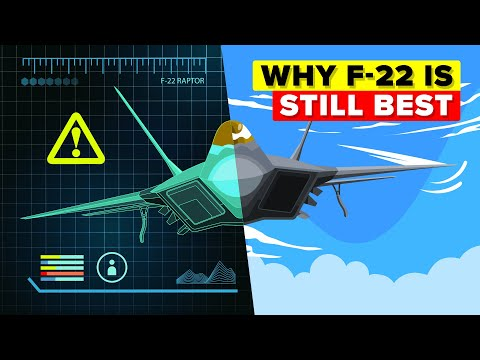 Why the F-22 is Still the King of the Skies