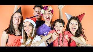 Tibo InShape - Bonne Résolution feat. Ma Famille (Clip Officiel)