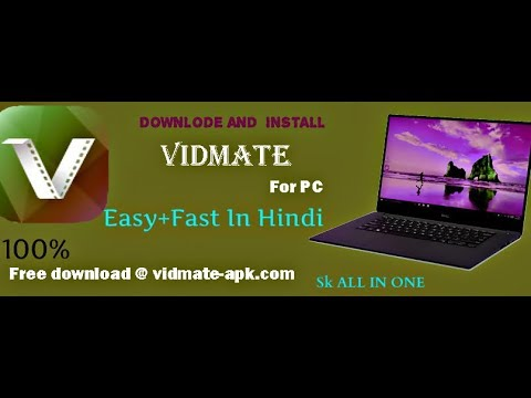 Vidmate  for pc {Windows 7,8,8.1,10} 100% FREE Download ..