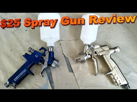 Ultra Cheap Spray Gun Review