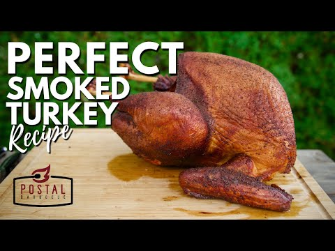 Smoked Turkey Recipe – How to BBQ a Turkey on the Pit Barrel Cooker EASY