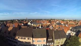 preview picture of video 'Ladenburg von oben Vers.2.0'